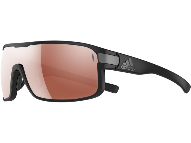 adidas Zonyk Glasses L, black matt/lst active silver